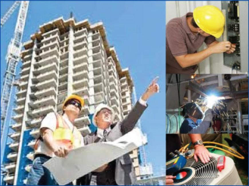 Equipo tecnico e ingenieros en aire acondicionado